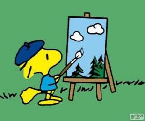 Maler Woodstock puzzle
