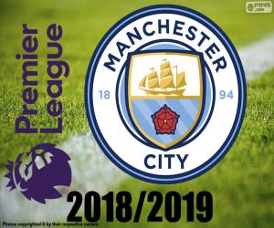 Manchester City, Meister 2018-19 puzzle
