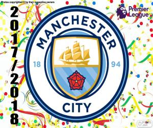 Manchester City, Premier League 2017-18 puzzle