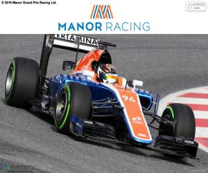Manor Racing 2016 puzzle