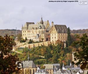 Marburger Schloss puzzle