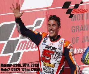 Marc Márquez, MotoGP 2016 puzzle
