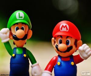 Mario und Luigi puzzle