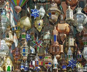 Marokkanische Lampen puzzle