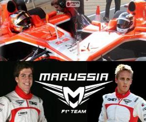 Marrussia F1 Team 2013 puzzle