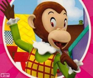 Martha Affe macht Witze, die andere Spielsachen puzzle