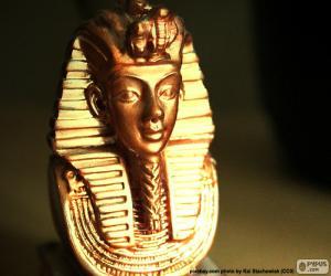 Maske des Pharaos Tutanchamun puzzle