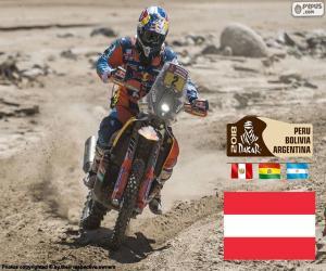 Matthias Walkner, Dakar-2018 puzzle