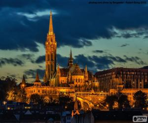 Matthiaskirche, Ungarn puzzle