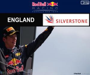 Max Verstappen, GP Großbritannien 2016 puzzle