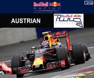 Max Verstappen, G.P von Österreich 2016 puzzle