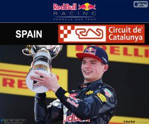 Max Verstappen, Großer Preis Spanien 2016 puzzle
