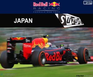 Max Verstappen, Großer Preis Japan 2016 puzzle