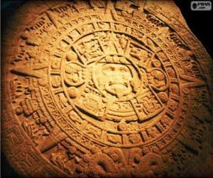Maya-Kalender puzzle