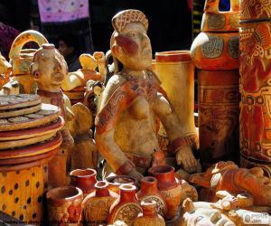 Maya Keramik puzzle