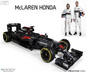 McLaren-Honda-2016 puzzle