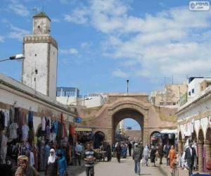 Medina von Essaouira, Marokko puzzle