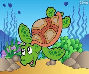 Meeresschildkröte puzzle