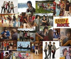 Mehrere Bilder von Camp Rock puzzle