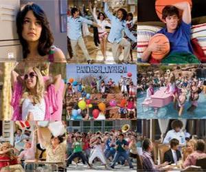 Mehrere Bilder von High School Musical 2 puzzle