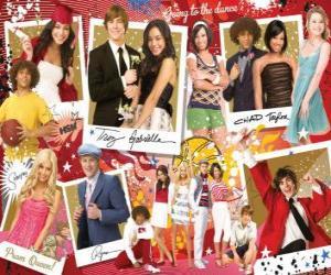 Mehrere Bilder von High School Musical 3 puzzle