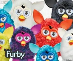 Mehrere Furbys puzzle