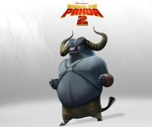 Meister Tosender Ochse ist der beste Schüler von Meister Donnerndes Hashorn. Seine Hörner sind seine tödlichste Waffe puzzle
