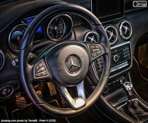 Mercedes-Benz Lenkrad puzzle