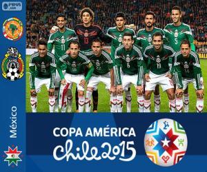Mexico Copa America 2015 puzzle