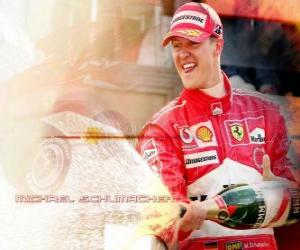 Michel Schumacher (Kaiser) in the podium puzzle