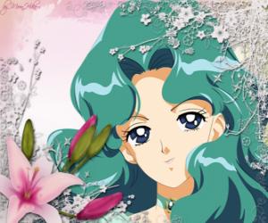 Michiru Kaioh wird Sailor Neptun puzzle