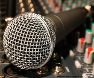 Mikrofon und Mischpult puzzle