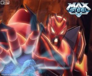 Miles Dredd, der größte Feind von Max Steel puzzle
