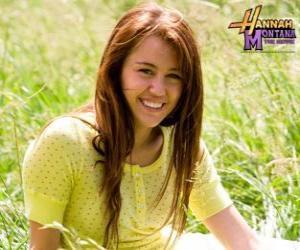Miley Cyrus / Hannah Montana puzzle