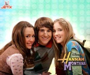 Miley Stewart und seine Freunde puzzle