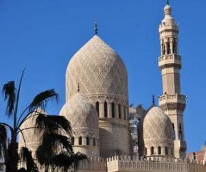 Minarette, Türme der Moschee puzzle
