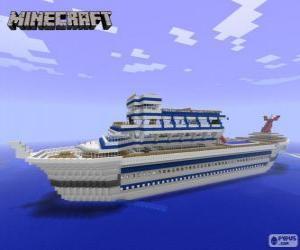 Minecraft-Kreuzfahrtschiff puzzle
