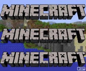 Minecraft-logo puzzle