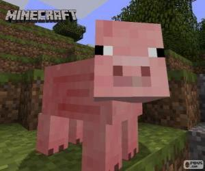 Minecraft-Schwein puzzle