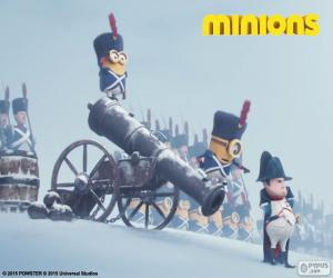 Minions und Napoleon puzzle