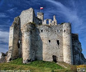 Mirów Burg, Polen puzzle