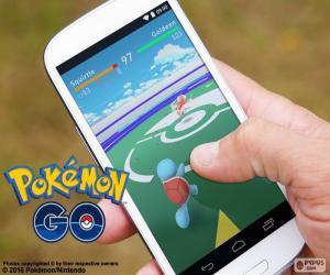 Mobile app-Pokémon GO puzzle