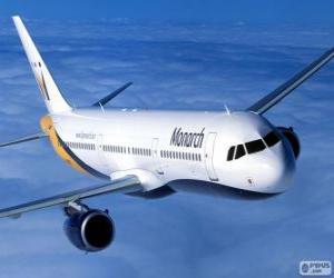 Monarch Airlines, britische Fluggesellschaft puzzle