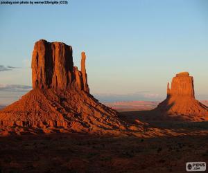 Monument Valley, Vereinigte Staaten von Amerika puzzle