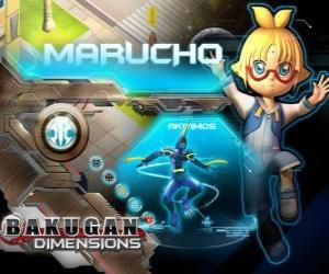 Morucho und Akwimos seinem neuen Vormund Bakugan puzzle