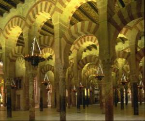 Moschee, der ort der anbetung des Islam puzzle