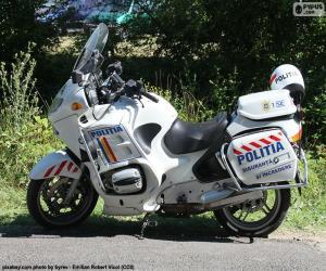 Motorrad-Polizei, Rumänien puzzle