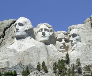 Mount Rushmore, Vereinigte Staaten puzzle