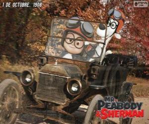 Mr. Peabody und Sherman in seiner Reise in das Jahr 1908 puzzle