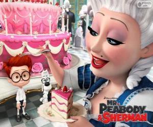 Mr. Peabody und Sherman in Frankreich puzzle